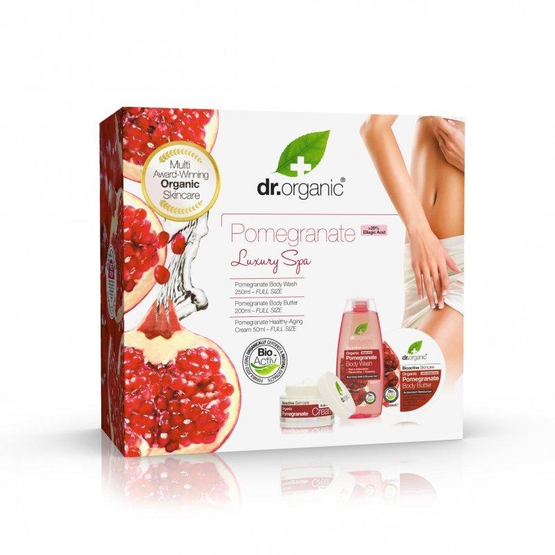 Dr. Organic Luxury Spa Gránátalmás Ajándékcsomag   vásárlás ... fddcca547c