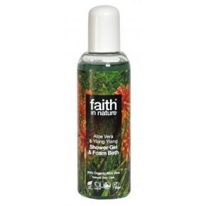 Faith in Nature Bio aloe vera és ylang-ylang tusfürdő