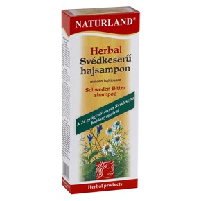 Naturland Herbal Svédkeserű sampon
